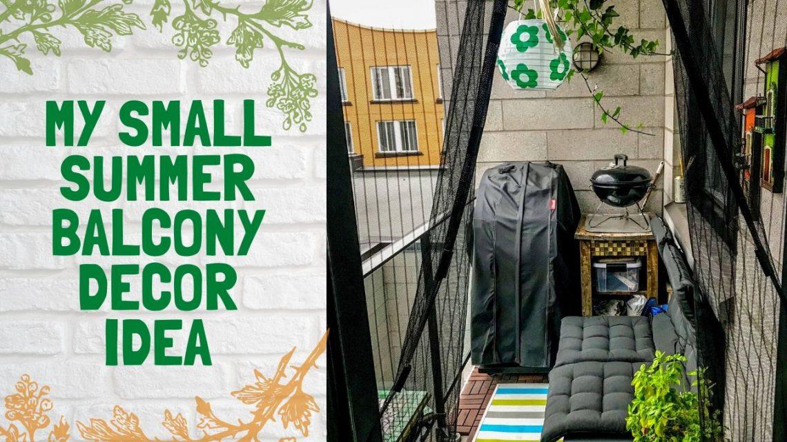 My Small summer balcony