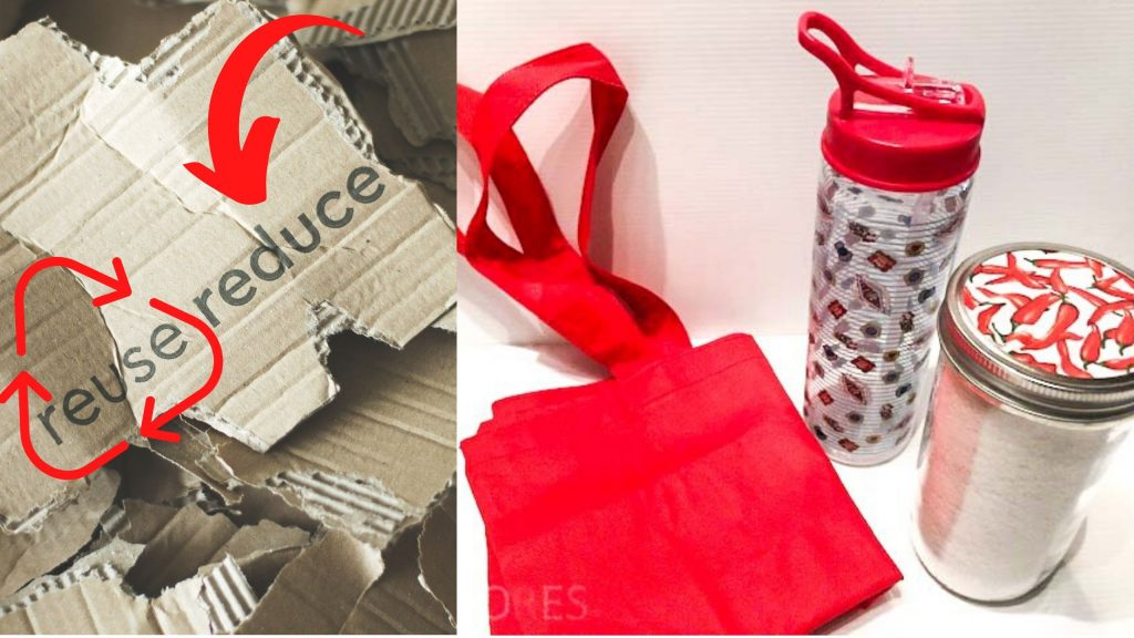 Reuse Reduce 1024x576 - The art of recycling by EcoDesigner Lucia Franzoso