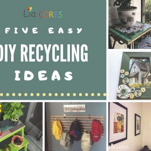 5 easy DIY Recycling Ideas