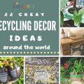 Recyling Decor Ideas 120x120 - 5 EASY DIY Recycling Ideas