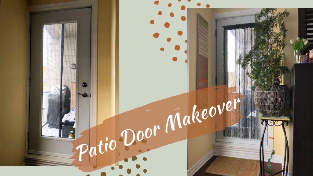 Patio Door Makeover 1024x576 - Small Home Office Decor Idea