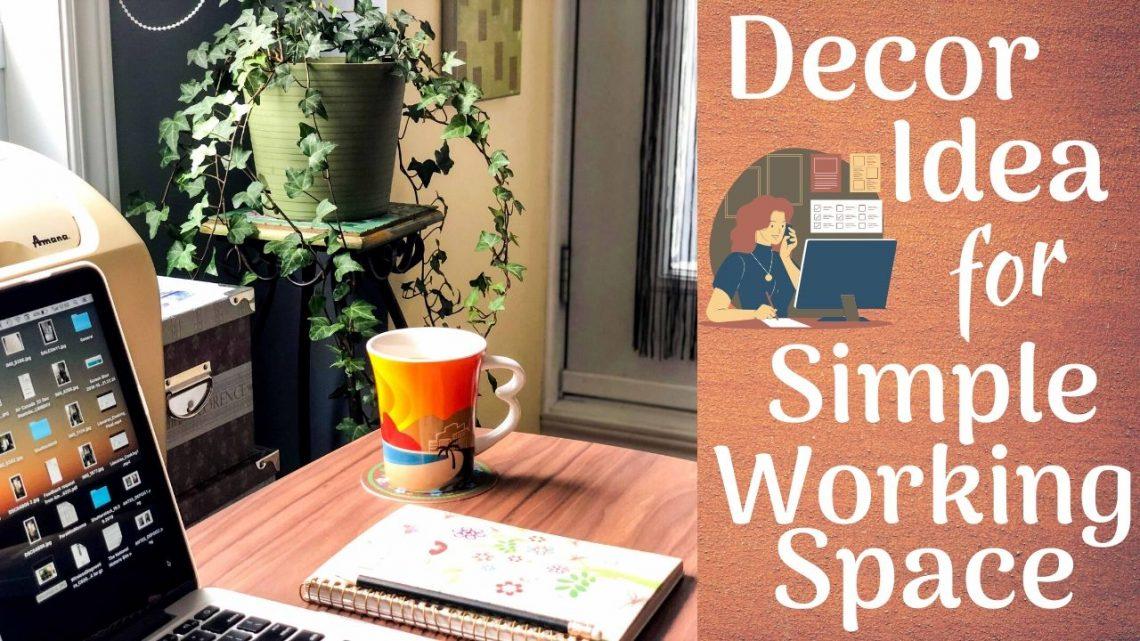Small Home Office Decor Idea