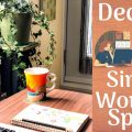 Small Home Office Decor Idea  120x120 - Small Bathroom Storage Ideas