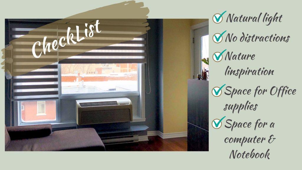WorkingSpace CheckList 1024x576 - Small Home Office Decor Idea